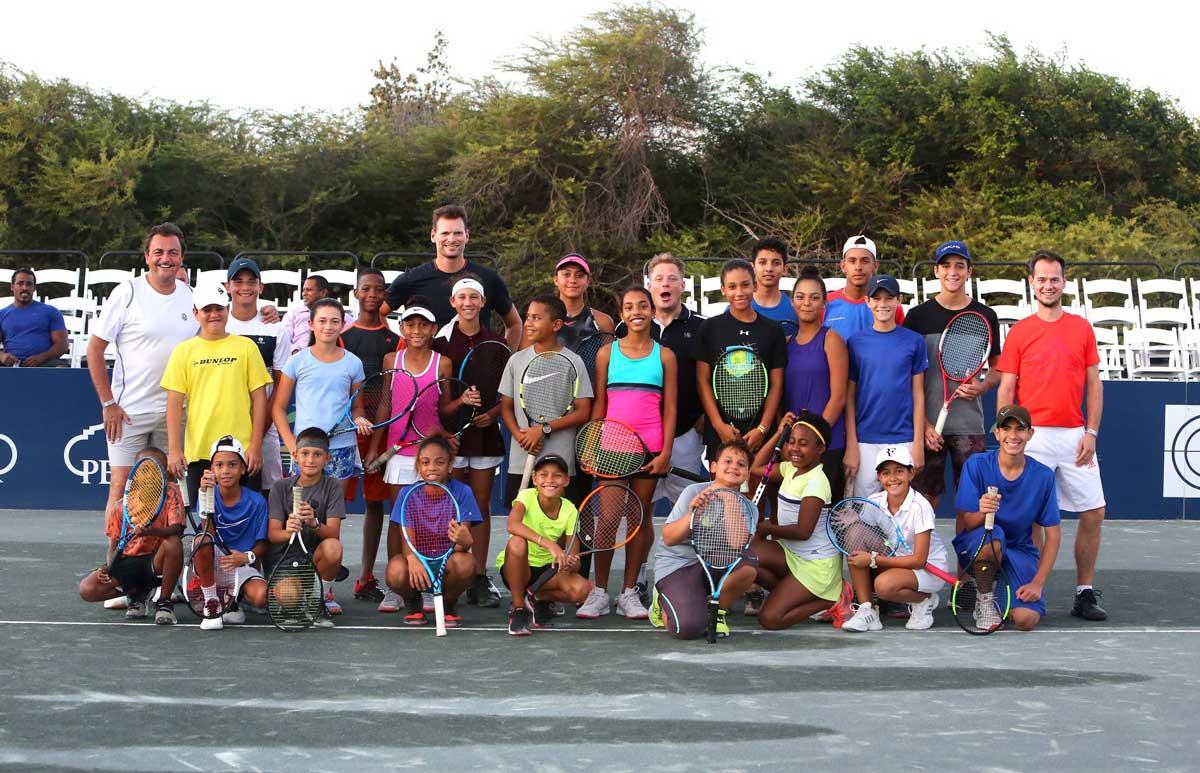 Tennis masterclass
